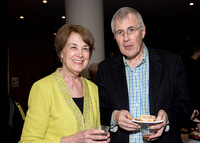 Friend Annette Conklin with Christian Zacharias, former SPCO  Artistic Partner